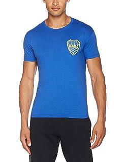Boca Juniors official tee shirt blue logo