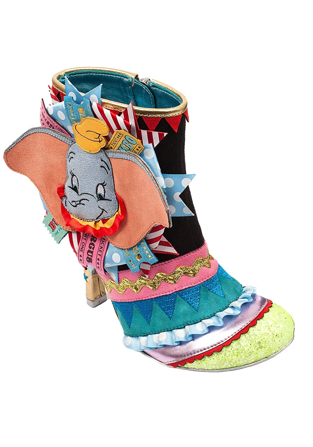 Irregular Choice Disney Dumbo and Timothy Q Mouse Boots