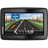 "Tomtom Via 130 - EU - GPS para coche de 4.3"" (mapas de Europa, 480 x 272 píxeles, LCD, Flash) color negro de"