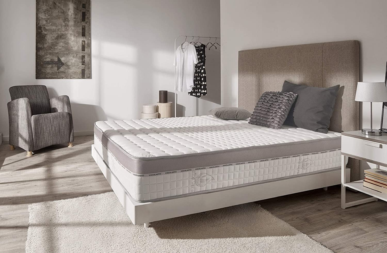 Naturalex | Extra Visco | Colchón 90x190 Cm Modelo Premium con Doble Cara Viscoelástico | Tejidos Multicapas Air-Fresh | Soporte y Comodidad 7 Zonas de Confort Diferenciadas | Reversible