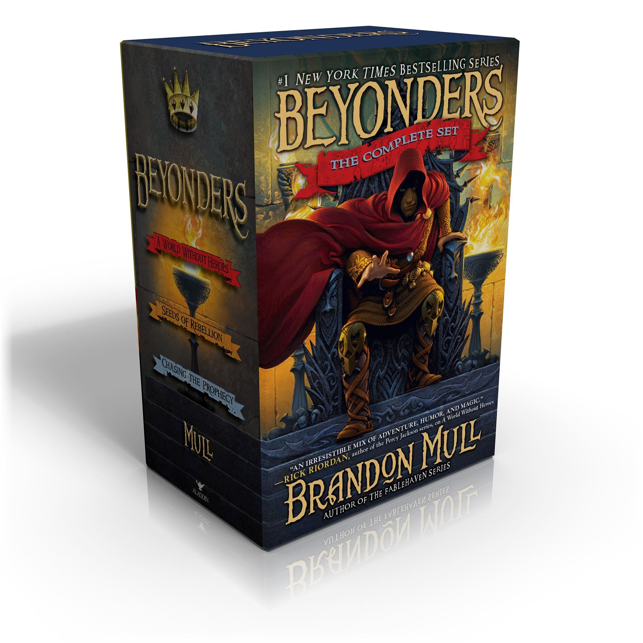 Download Beyonders The Complete Set: A World Without Heroes; Seeds of Rebellion; Chasing the Prophecy pdf epub