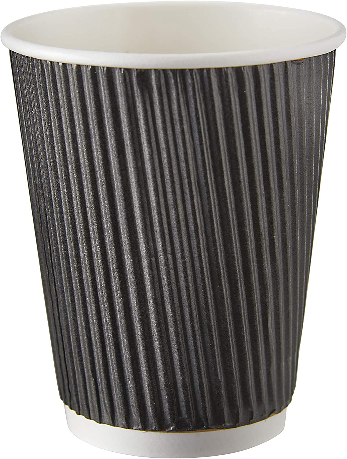 Biodegradable Ripple Paper Cups 12oz Insulated Paper