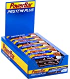 Powerbar - Proteinplus Low Sugar 35 gr Choco 30 Units, color chocolate