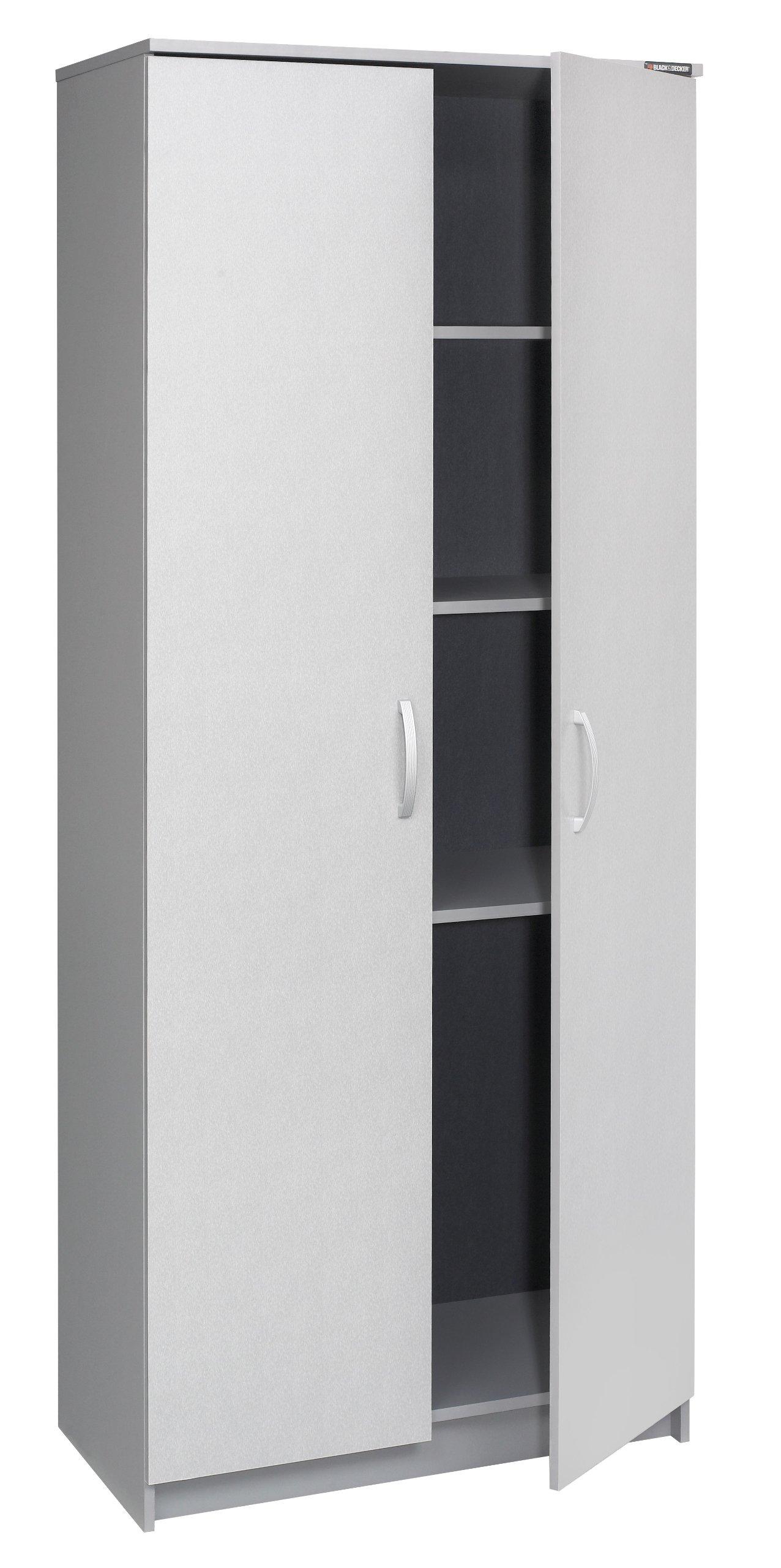 Black & Decker BG106164S 2 Door Storage Cabinet
