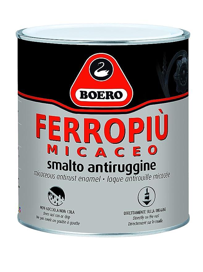 1 opinioni per FERROPIU' MICACEO BOERO SMALTO ANTIRUGGINE X INTERNI ED ESTERNI APPLICABILE