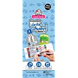 Mabel's Labels Write Away Peel and Stick Labels for Boys, 30 Count