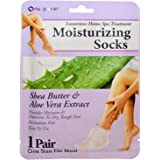 Nu-Pore Moisturizing Socks, Case of 24