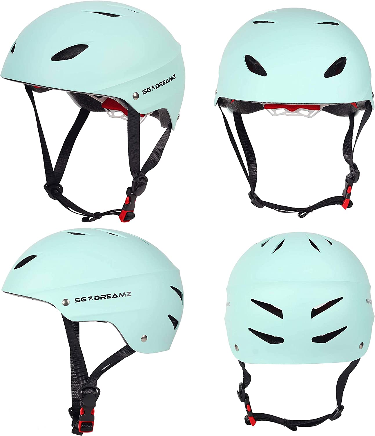 Adult Helmet Adjustable Dial for Head Circumference 21.6 to 24 Head Size Large Commuter Bicycle Helmets for Men and Women