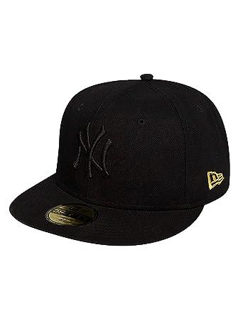 5cab4cba679 New Era Men Caps Fitted Cap Leopard York Yankees Black 7 1 8-56