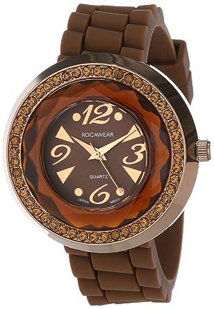 Amazoncom Rocawear Womens Quartz Brass And Alloy Sport Watch