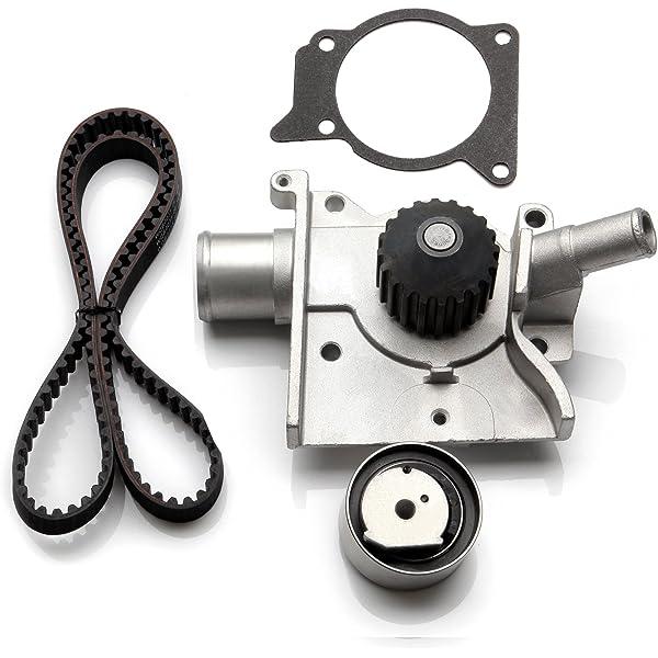 Timing Belt Water Pump Kit fits for 1997 1998 1999 2000 2001 2002 Ford Escort 1997-1999 Mercury Tracer 2.0L l4 GAS SOHC
