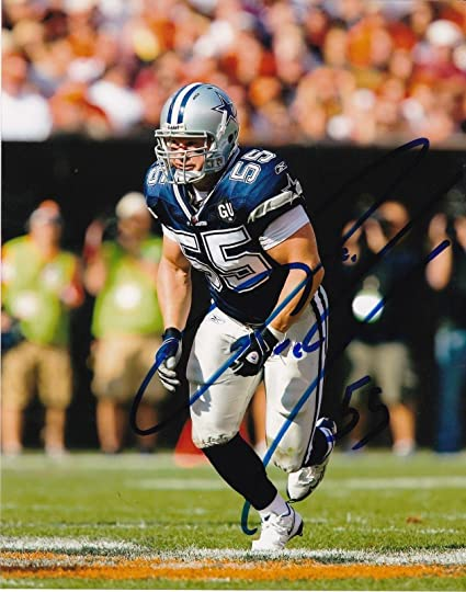 New ZACH THOMAS DALLAS COWBOYS ACTION SIGNED 8x10 Autographed NFL  supplier