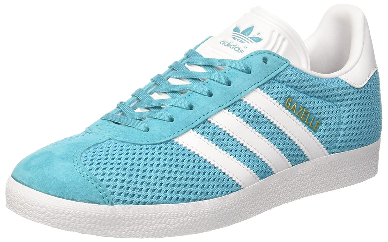 Adidas Originals Gazelle, Zapatillas de Deporte Unisex Adulto 46 2/3 EU|Varios Colores (Energy Blue/Footwear White/Energy Blue)