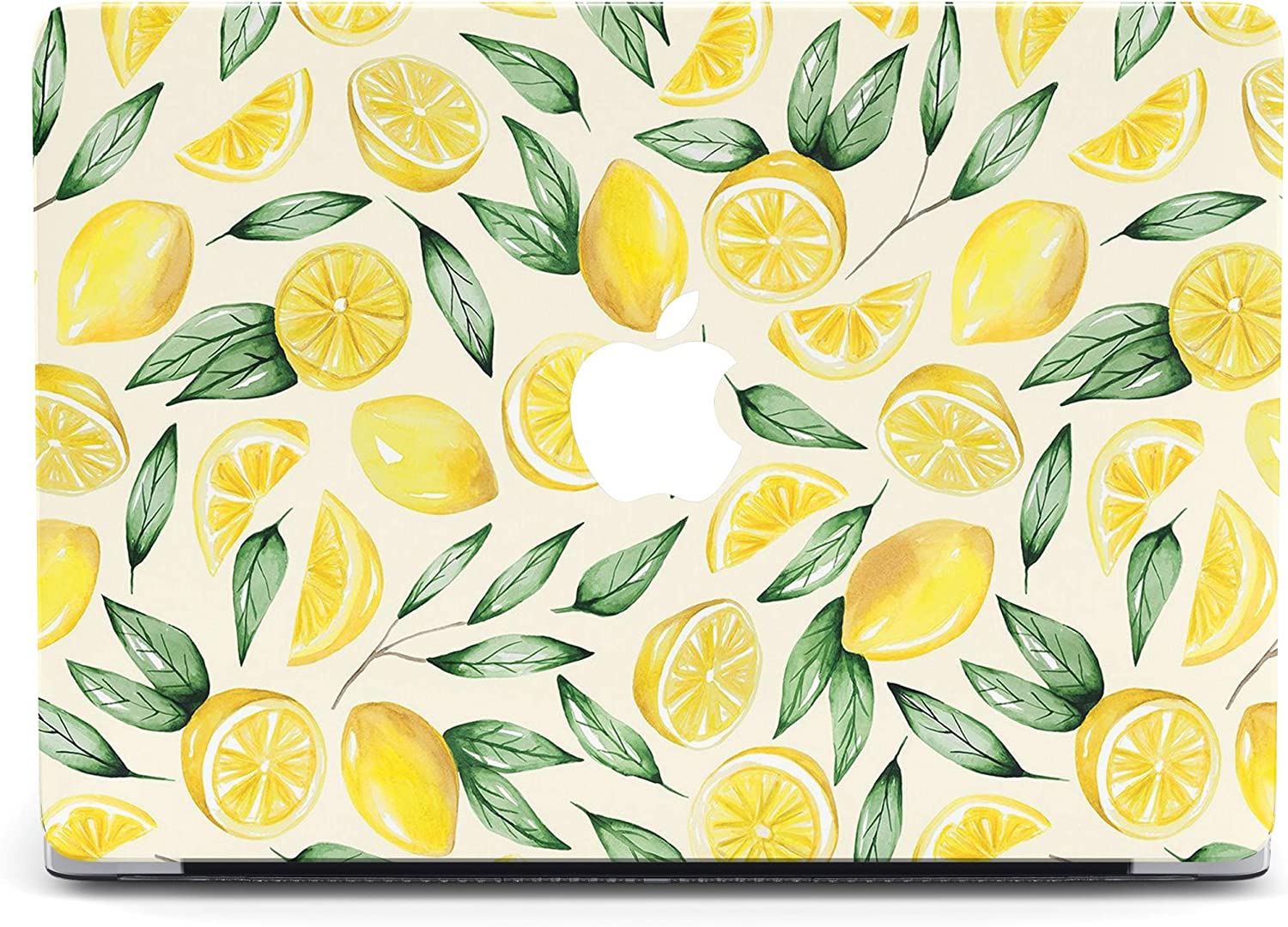 Food Lemon Protective case Compatible with Apple MacBook Mac Air Pro 13 12 15 16 13.3 inch Retina Cover SN3 (Air 13
