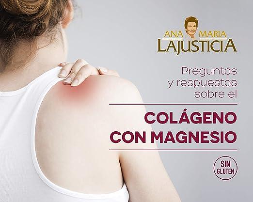 Ana Maria Lajusticia - Colágeno con magnesio – 450 comprimidos articulaciones fuertes y piel tersa. Regenerador de tejidos con colageno hidrolizado ...