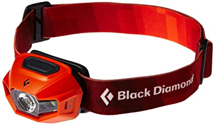 Amazon Com Black Diamond Revolt Headlamps Vibrant Orange Sports