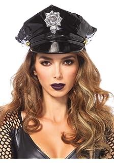 Leg Avenue Womens Police Hat Costume Accessory