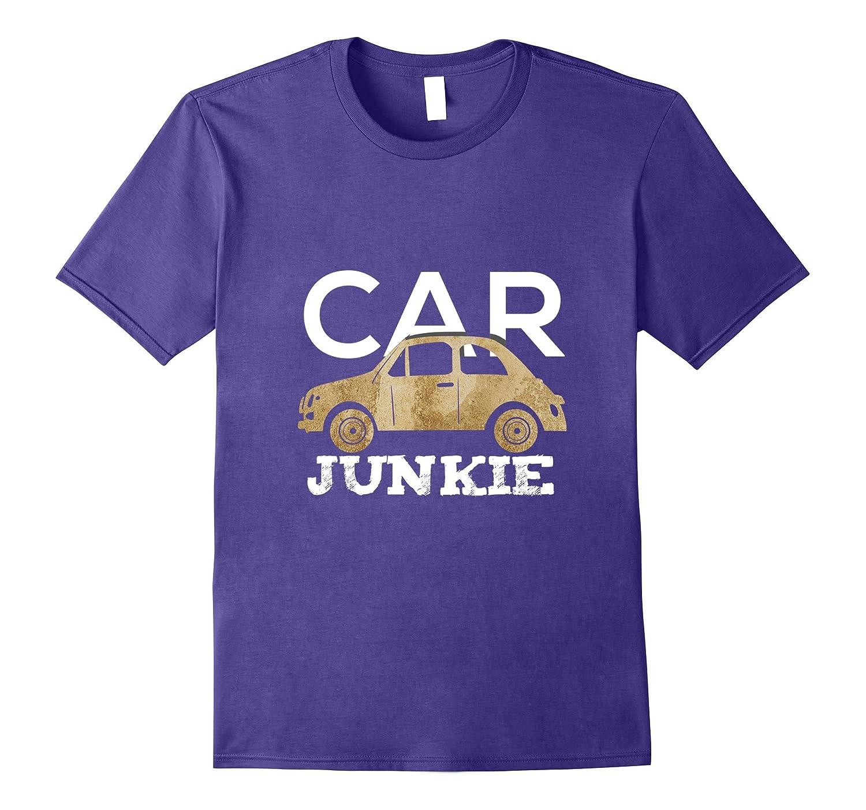Car Junkie Classic Vintage Car Auto Collectors T Shirt-TH