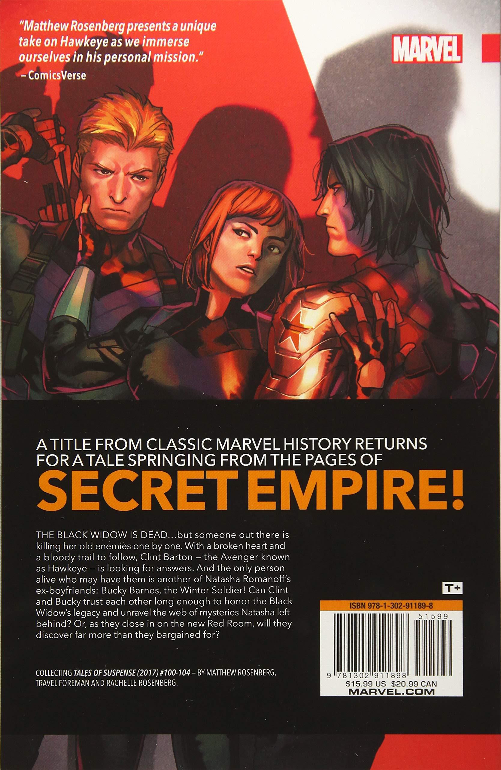 Amazon com: Tales of Suspense: Hawkeye & the Winter Soldier