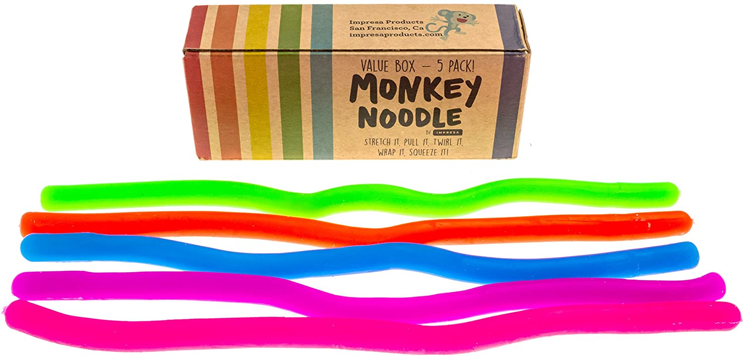Stretchy strings fidgets noodles autism//adhd//anxiety fidgets sensory toy ZX