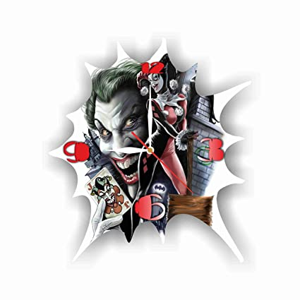 Amazon Com Art Time Design Studio Harley Quinn And Joker