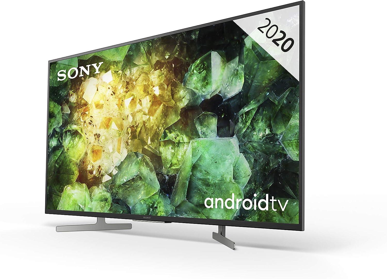 Sony KD-43XH8196PBAEP - Televisor 4K HDR Android TV (procesador X1 4K HDR, Triluminos, 4K X-Reality PRO, MotionFlow XR, Dolby Vision, Dolby Atmos, calibración automática caIMAN, control por voz): Amazon.es: Electrónica