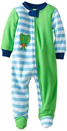 Amazon.com  ABSORBA Baby Boys  Frog Blanket Sleeper 81ab6a52f