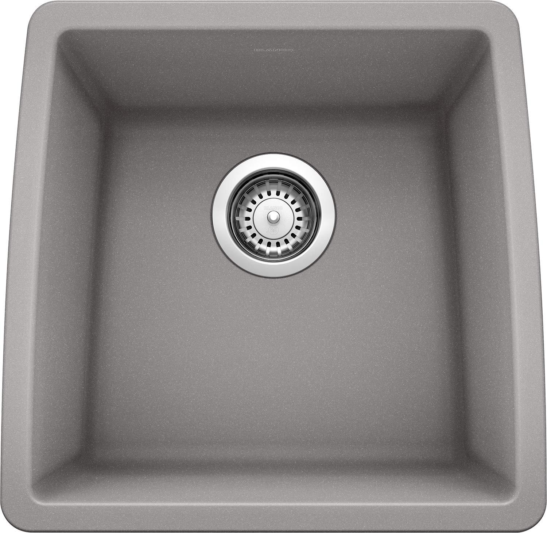 Blanco 440082 Performa Bar Bowl-Metallic Gray Sink