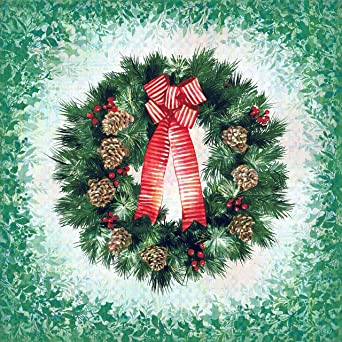 RJR Fabrics 'Something For Every Season' Christmas Panel 100/% Cotton Fabric