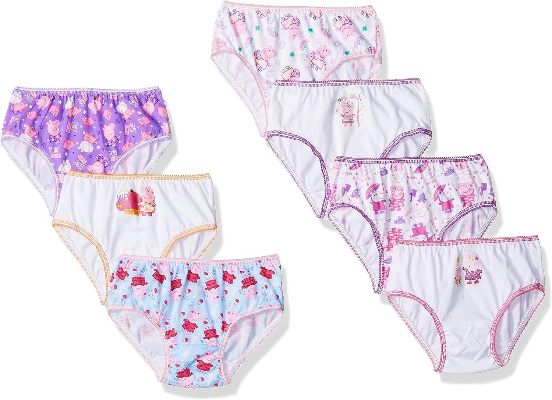 Peppa Pig Girls' 7 Pack Panty
