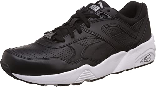PUMA Herren R698 Core Leather Sneakers