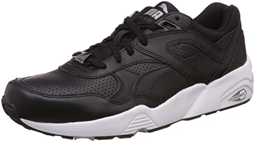 1b341069d9f Puma Unisex Adults 360601 02 Low-Top Sneakers Black Size  3.5 UK ...