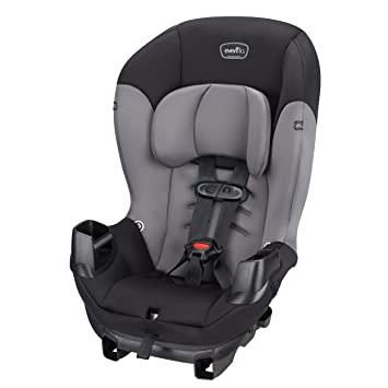 Amazon.com : Evenflo Sonus Convertible Car Seat, Charcoal Sky : Baby
