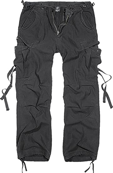2030fe67 Brandit M65 Trousers Vintage Combat Paintball Airsoft Army Cargo Pants