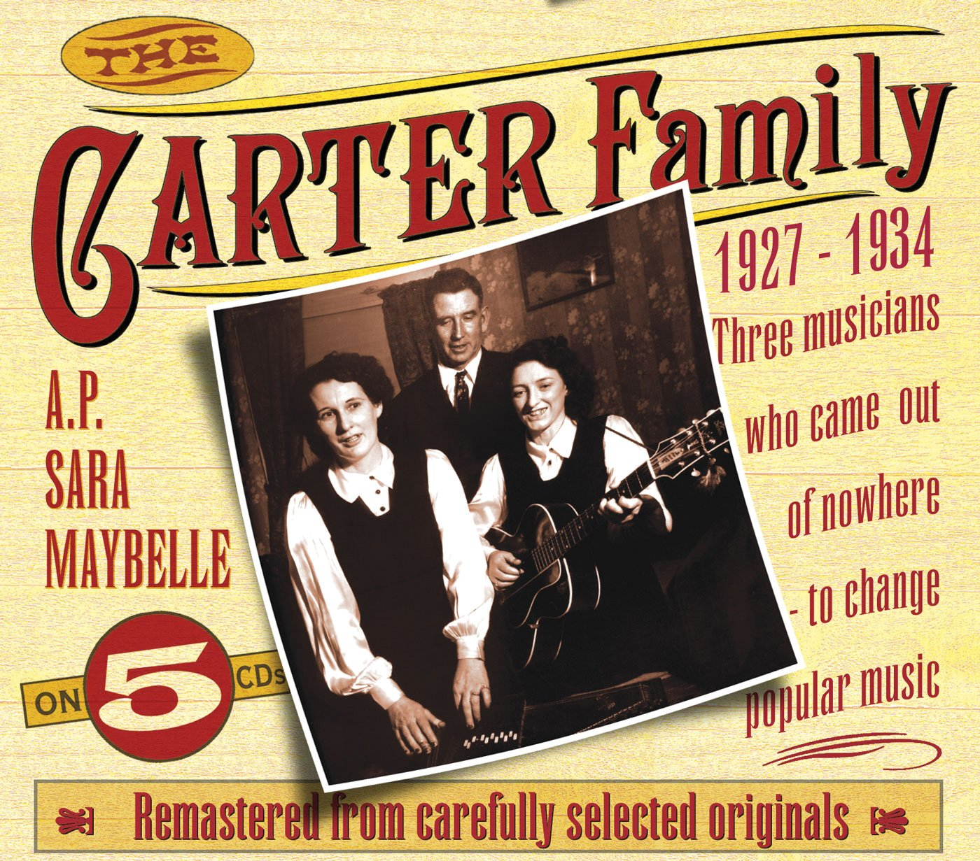 The Carter Family: 1927-1934 by JSP