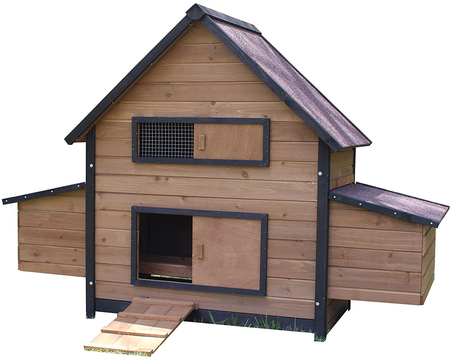 Large Brunswick Double Nest Box Coop (with Optional Run) (Large)