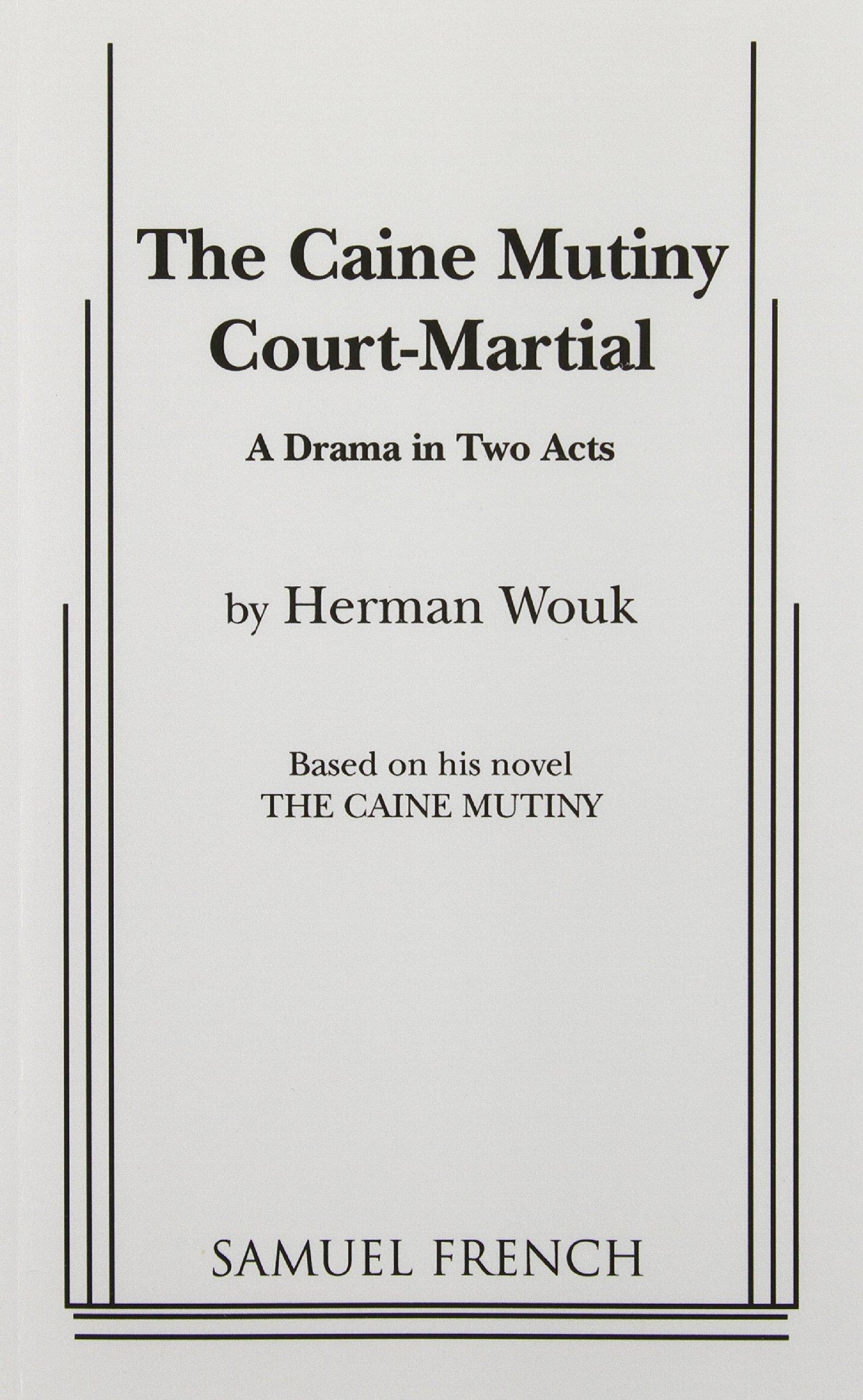 The Caine Mutiny Court Martial PDF