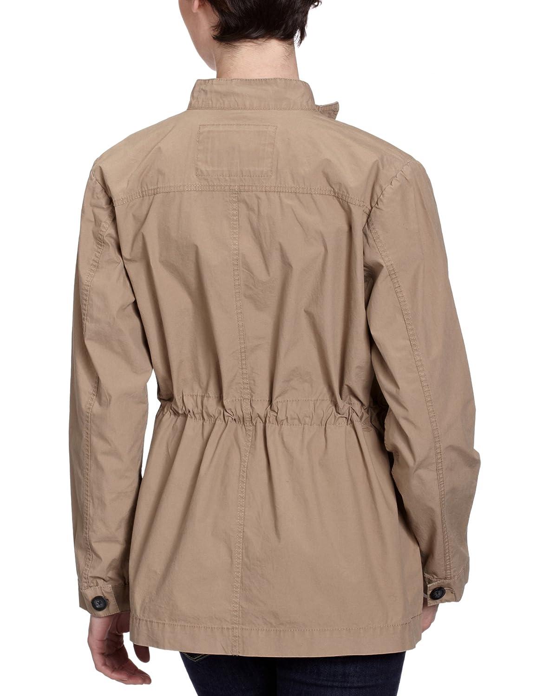 Part Two Abrigo con cuello mao de manga larga para mujer, talla 36, color Marrón (Light Brown 116): Amazon.es: Ropa y accesorios