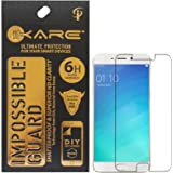 iKare Impossible Fiber Tempered Glass Screen Protector for Oppo F1s