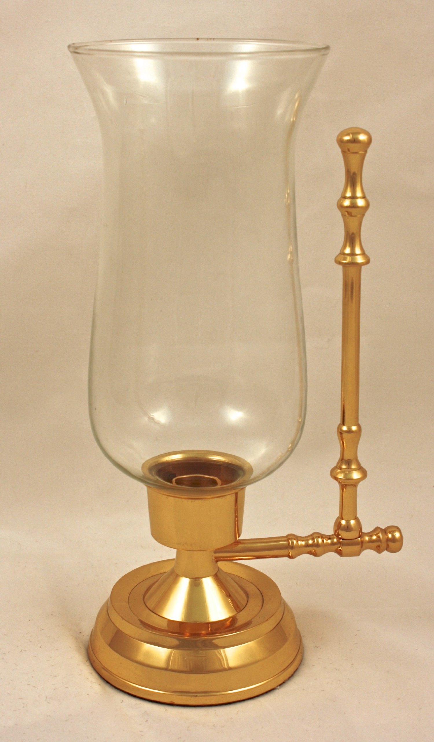 Brass & Silver Traditions Whaler's Hurricane Lamp