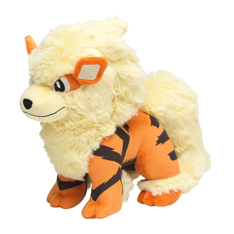 Poke Plush Stuffed Toy Arcanine 8-Inch Windie SG/_B018LMTOYQ/_US Pokemon Center Original