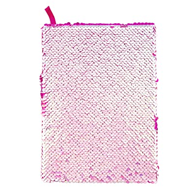 Style.Lab by Fashion Angels Magic Sequin Journal - Iridescent/Pink: Toys & Games
