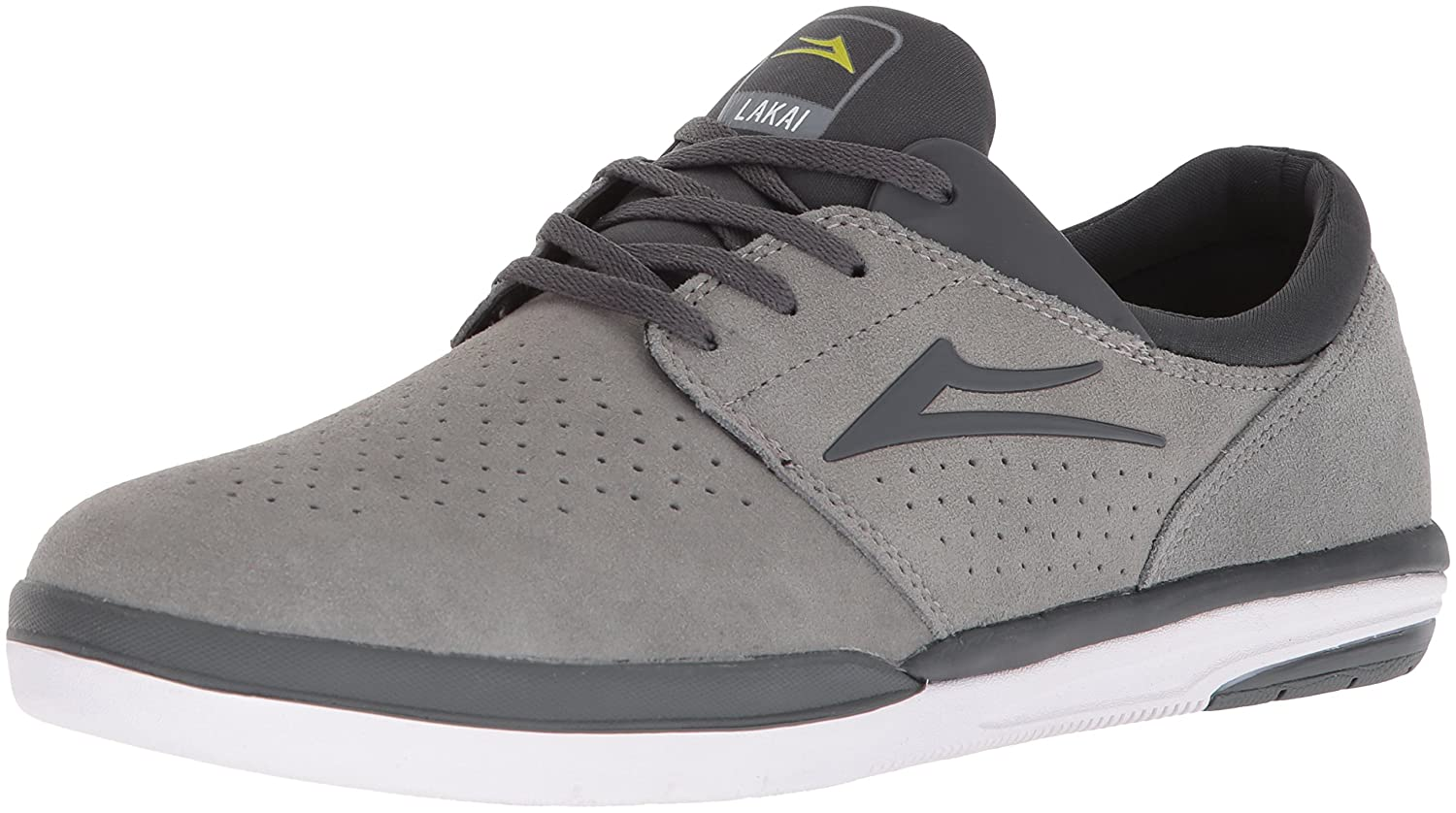 Lakai Fremont B073SPF9BB 12 M US|Grey Charcoal Suede
