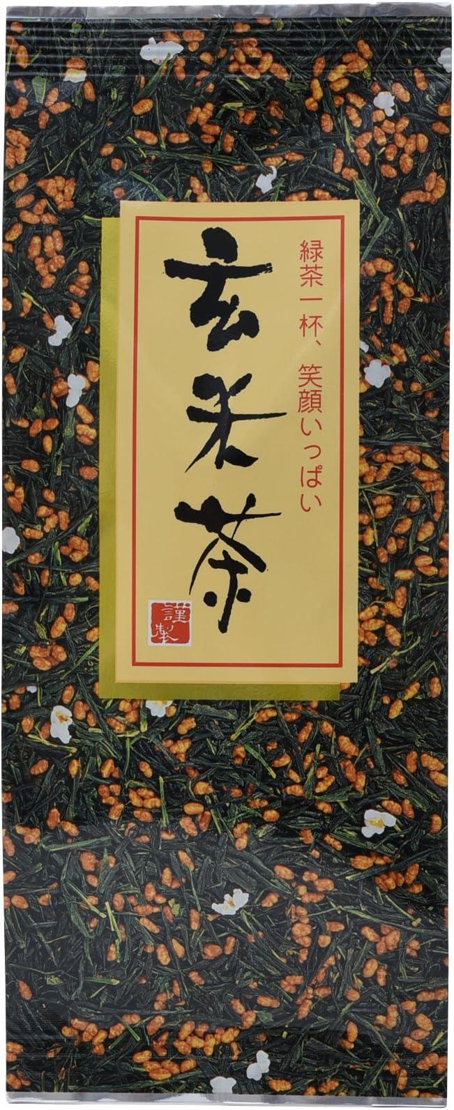 原野製茶本舗 玄米茶 徳用 200g