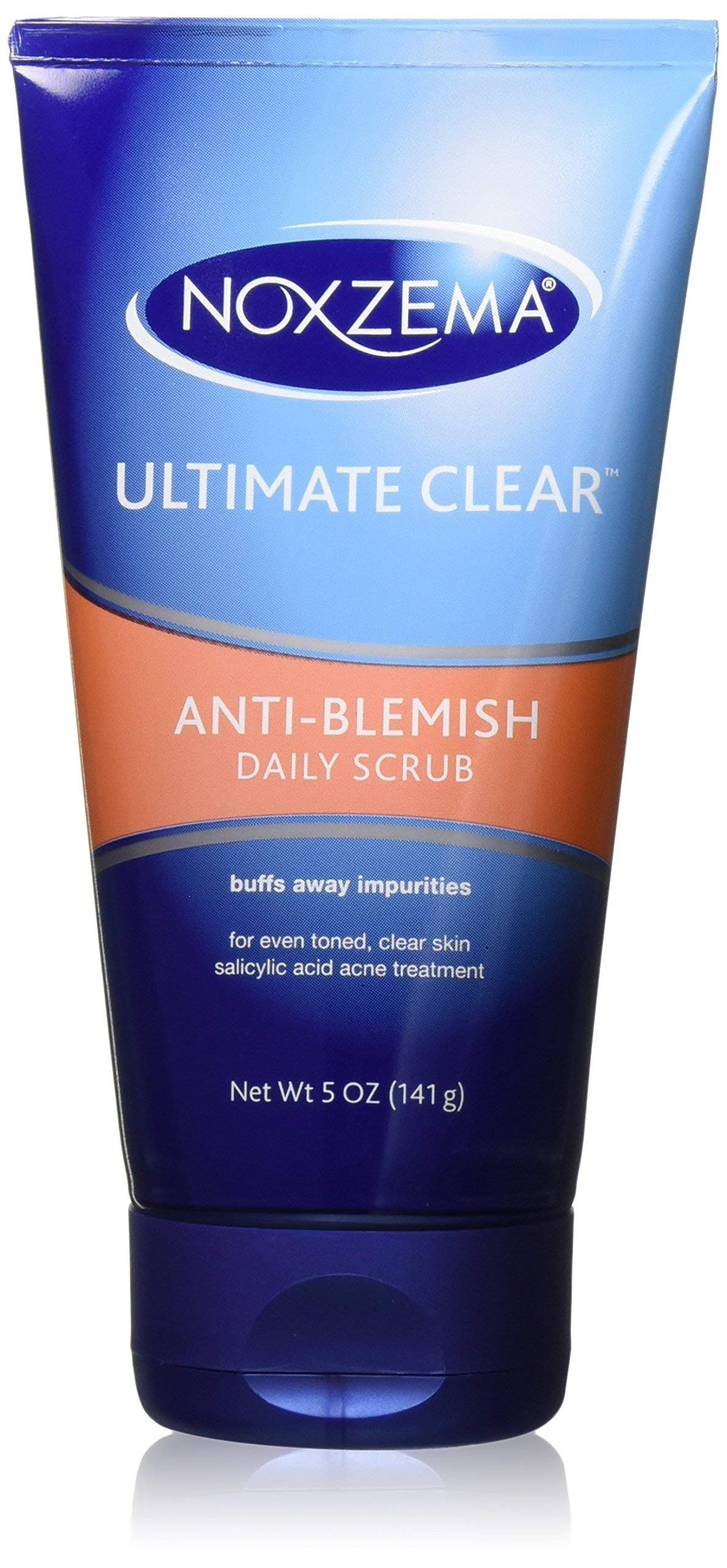 Noxzema Anti-Blemish Daily Scrub Tube, 5 oz, 2 Piece by Noxzema