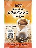 UCC おいしいカフェインレスコーヒー コーヒー豆 (粉) 200g ノンカフェイン