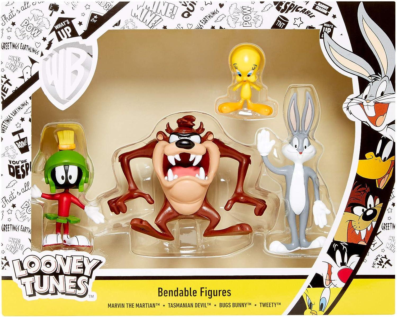 Looney Tunes Action Figures Tweety /& Sylvester Bendable Pair lt-4806 NJ Croce LT 4806-V2
