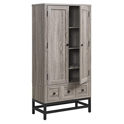 Astonishing Ameriwood Home Barrett Beverage Cabinet Interior Design Ideas Ghosoteloinfo