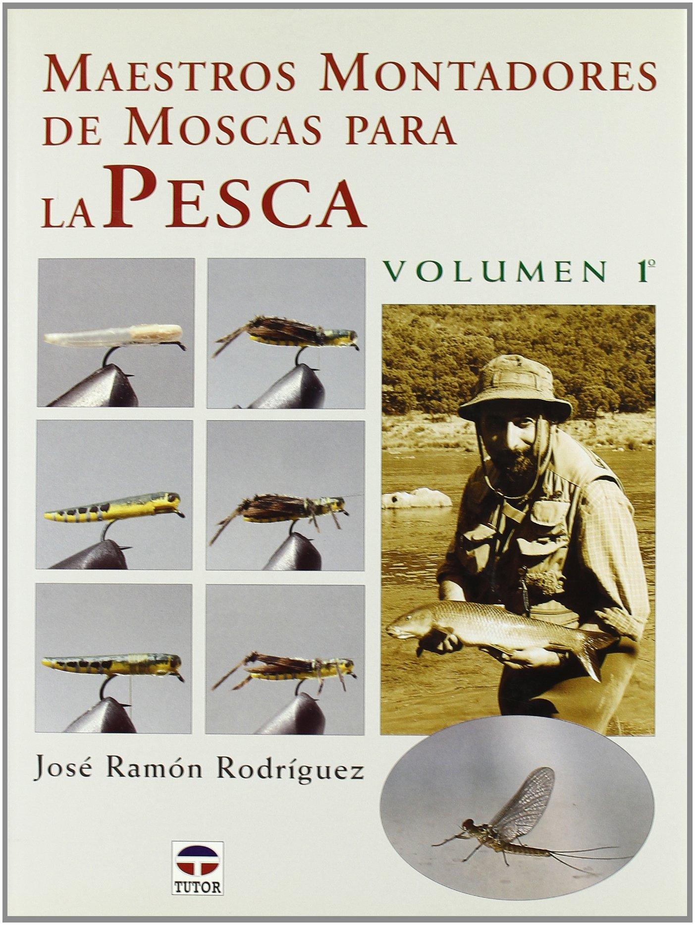 Maestros montadores de moscas para la pesca