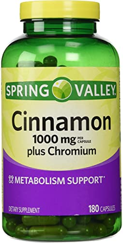 Spring Valley Cinnamon 1000mg Plus Chromium